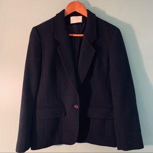 Vintage Pendleton wool black blazer